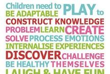 All About Play / Play is the language through which children learn! This board will have information on play, as well as ideas for you for use.