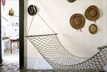 Nautical Rope Decorating / Be inspired by these wonderful interiors featuring rope decor trends.