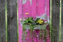 Backyard DIY Projects / Do It Yourself Ideas for your garden