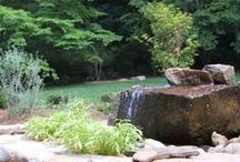 Fire Pits and Water Features / Water features and fire pits for outdoors