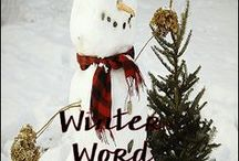 Snow & Snowman Ideas and Resources / Wonderful winter crafts, lesson ideas, and related books to share!