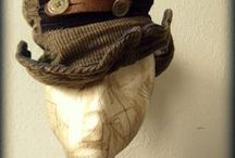 Hat and Scarf / Beautiful adornments for the head, neck and shoulders