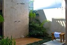 Outdoor Shower Ideas / An outdoor shower for your outdoors space/garden
