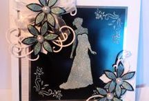 Inspiration with Sparkle Medium / Projects created by the Imagination Crafts Team using Sparkle Medium