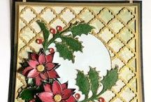 Christmas Inspiration / Christmas cards made by Imagination Crafts' designers