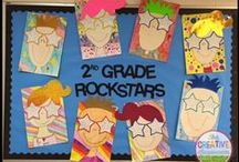 Rock and Roll Classroom Decor Ideas / Shine the spotlight on your students with decor and learning activity ideas that are rock-and roll-themed!