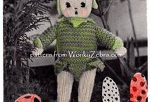 ToyPatternLand toy patterns / vintage knitted and crocheted toy patterns from WonkyZebra's ToyPatternLand ETSY collection. all available at https://www.etsy.com/uk/shop/ToyPatternLand please email if you have any queries