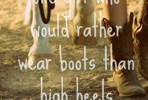 Cowboy Qoute / Be positive in yourself you have to in order to get stronger and be a better rider
