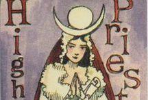 The High Priestess - Tarot Cards / Different versions of the High Priestess selected by tarotparlor.com