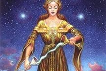 Temperance - Tarot Cards / Different versions of Temperance selected by tarotparlor.com