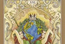 The World - Tarot Cards / Different versions of the World selected by tarotparlor.com