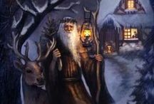 The Hermit - Tarot Cards / Different versions of the Hermit selected by tarotparlor.com