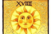 The Sun - Tarot Cards / Different versions of the Sun selected by tarotparlor.com