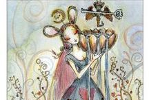 Cups - Tarot Cards / A selection of Cards from the Cups suit - more Tarot on www.tarotparlor.com