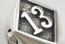 Anéis números / Aneis em aço inox sob encomenda e ou a pronta entrega