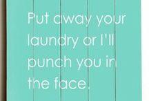 Laundry Room Lovin' / by Amy Hatley Hardesty