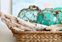 sea-spiration / finding inspiration in the sea, nautical themed decor