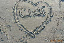 Always Hearts / I have a collection of heart rocks that I collect from Rye Beach everytime I go and sit where I put Chet's ashes. / by Kath Oglesby