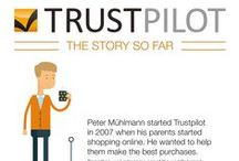 Colorful Infographics / This board covers informative infographics covering Trustpilot and related topics.