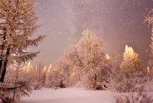 "Winter / ""...The darkest evening of the year..."" / by Emma Johansson"