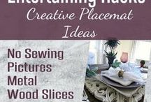 Rustic & Refined Tablescapes / Table setting, Party Ideas, Table Top Décor, Dishes