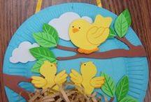 Spring crafts - Άνοιξη