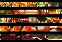 Color Scripts / Color Script of Films