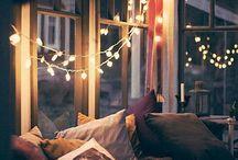 home sweet home  / cozy.  / by Jordan Romrell