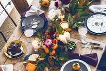 Rustic & Refined Autumn Tablescapes