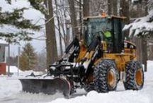 Cat Snow Fighters / Cat machines have proven their dependability in the worst of weather conditions. The Cat machines in this board are involved in snow fighting work around the world. / by Peterson Cat