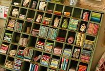 craft room / Fun ways to decorate and organize your craft room