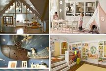 Decorating: play area / Decorating and other fun ideas for a play room for the littles