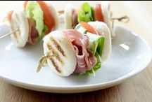 CREATIVE MINI FOOD / appetizers and snacks / by Rachel @ Sprinkle Some Fun