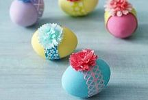 CREATIVE EASTER IDEAS / He is Risen and that is the BEST news of all!   / by Rachel (BubblyNatureCreations)