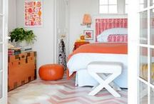Stylish Bedrooms for the Teen Girl / A collection of stylish bedrooms for the teen girl.  Some bright and bold, others classic and understated, but all great design.