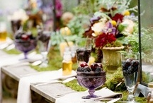Decorative Place Settings / Yes, I love to entertain and I love pretty colors.  The details make all the difference.