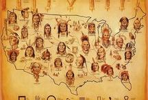 nativos americanos / by A Calderon
