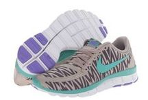 Awesome Running Shoes / Cool and colorful shoes for running including spikes and Nike waffle and Jana / by Ninja Nance