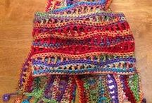 Crocheting, Knitting and Sewing