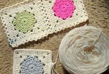 Grannies and other Squares and Motifs / I have been thinking I would like to make an afghan, kind of a sampler from all the beautiful squares/blocks that I have been finding here on Pinterest. So, I pinned them all together. / by Colleen Smith