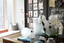 Home Office / A collection of stylish home offices and work spaces.