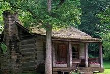 Log Cabins / by Lisa McPherson