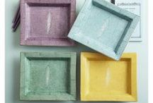 Snake and Shagreen / Snake and Shagreen are two of the hottest textures of 2013!