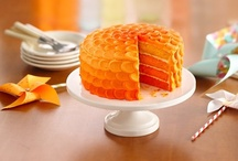 Cakes, Cupcakes & Frostings / Also other toppings for cakes and cupcakes. / by Colleen Smith