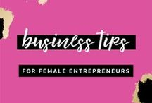 Business Tips for Female Entrepreneurs / Hi Boss Babe! Are you looking for stellar tips for your online business or creative brand? This is the perfect board for you! Blogging tips, Small business information, business tips for women, marketing for your creative business, photography business branding and marketing, blogging advice for female entrepreneurs, how to be successful in business, entrepreneurship, business organization, millennial female entrepreneurs, women in business
