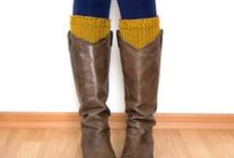 Chi Chi Dee Knitted Boot Cuffs