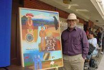 California Indian Artist - Frank Lapena