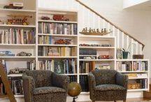 Bookshelf beauties / Bookshelves and how to decorate them