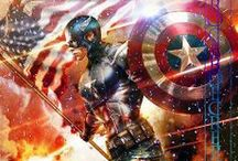 Captain America - Marvel / by Barbie