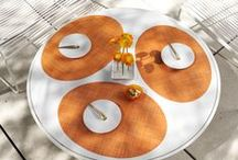 Colorful Combinations / Brighten interiors with colorful combinations from tabletop to floor. / by Chilewich